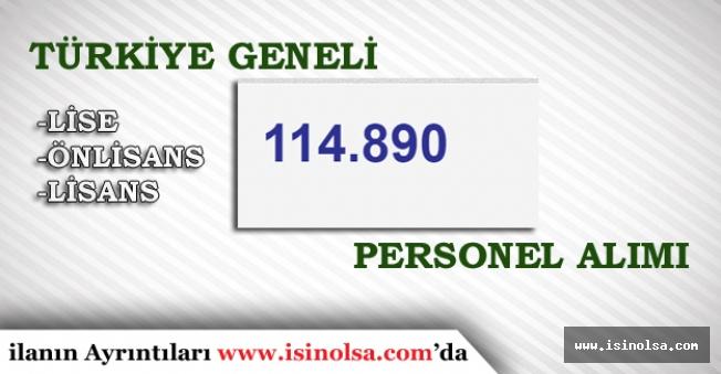 İŞKUR 27 Haziran İtibari ile Türkiye Geneli En Az Lise Mezunu 114 Bin 866 Personel Alımı Yapıyor!
