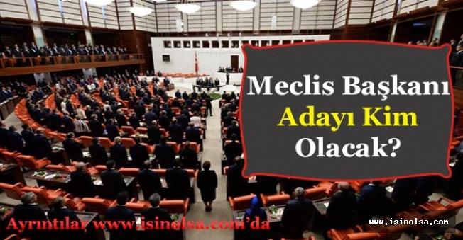 AK Partinin Meclis Başkanı Adayı Kim Olacak?