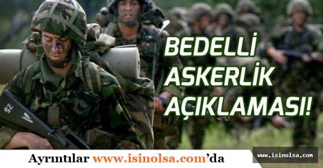 Başbakan YILDIRIM Bedelli Askerlik İçin Önemli Açıklama Yaptı!