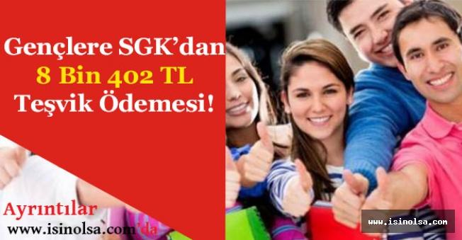 SGK Genç Girişimciye Destekten Kimler Yararlanacak! (8 Bin 402 TL)