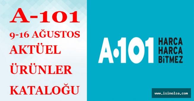 A101 9-15 Ağustos Aktüel Ürünler Katalogu