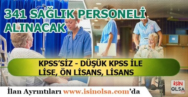 DPB'de Memur Alım İlanı Açıklandı KPSS'siz Düşük KPSS ile 341 Sağlık Personeli Alınacak!