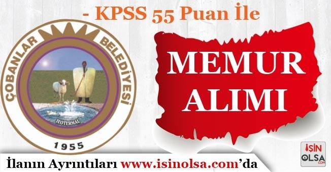 KPSS 55 Puan İle Memur Alımı Devam Ediyor!