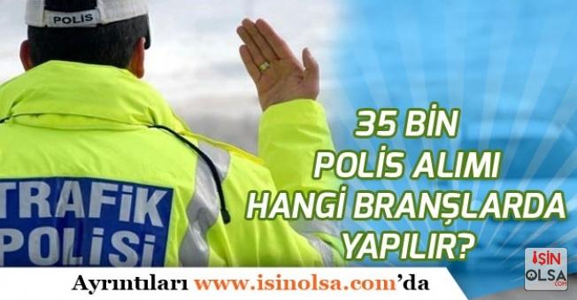 2019'da 35 Bin Polis Alımı (PÖH, PMYO, PAEM, POMEM) Hangi Branşlarda Bekleniyor!