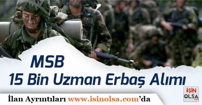 Askeri Personel Alımı! DPB'de Açıklanmıştı 15 Bin Uzman Erbaş Alımı Detayları Neler?