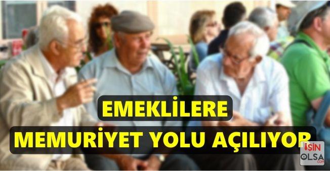 Emeklilere Memuriyet Yolu Açılıyor! Emekli Olanlar Tekrar Memur Olarak Çalışabilir Mi?