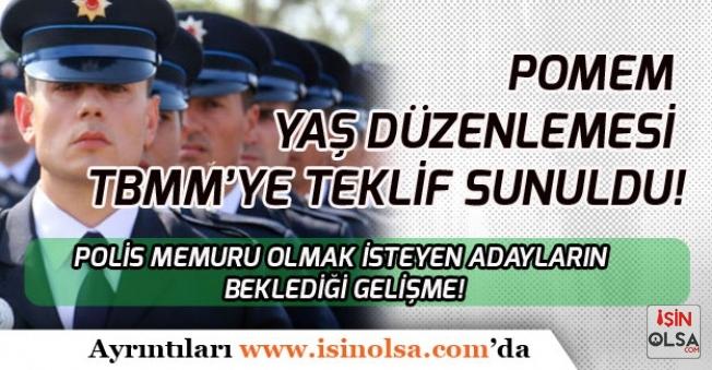 Polis Adaylarına Müjde! POMEM Alımlarında Yaş Şartı İçin Düzenleme Yapılacak!