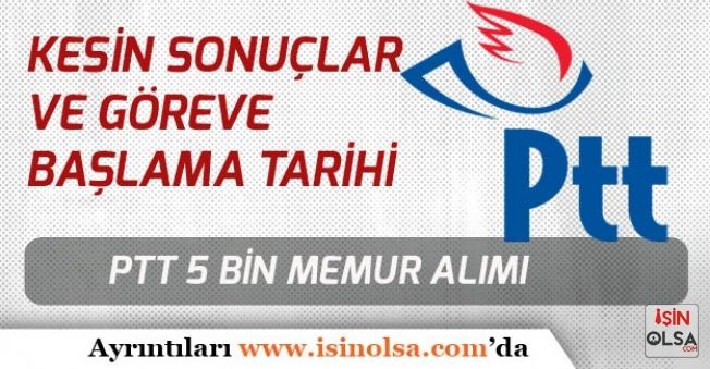PTT 5 Bin Memur Alımı Kesin Sonuçlar ve Göreve Başlama İçin Yeni Gelişmeler!