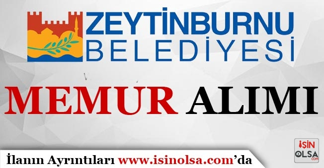 Zeytinburnu Belediye Başkanlığı Avukat Alım İlanı Yayınlandı