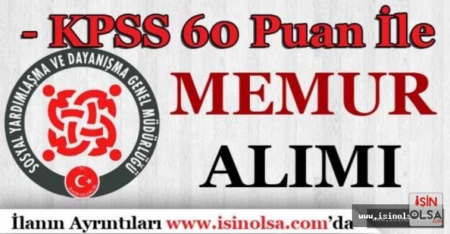 İzmir Ödemiş SYDV KPSS En Az 60 Puan İle Memur Alıyor