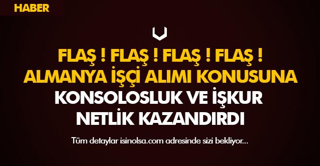 OBM Türkiye Almanya 10 Bin İşçi Alımında FLAŞ Gelişme! İŞKUR ve Konsolosluktan Açıklama