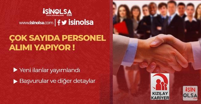 Türk Kızılayı 25 Farklı Pozisyonuna Çok Sayıda Personel Alıyor!