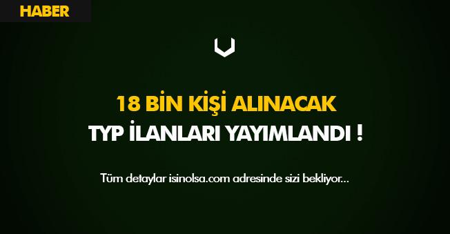 İŞKUR Aracılığıyla TYP Kapsamında 18 Bin Personel Alım İlanı Yayımlandı! 70 Bin Alımın İlk Adımları
