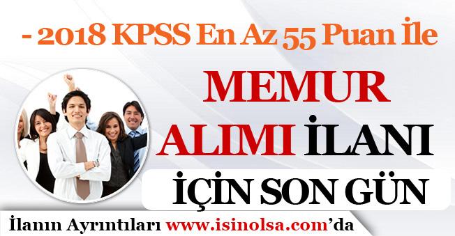 KPSS En Az 55 Puan İle Memur Alımı Başvurularında Son Gün!