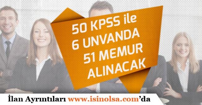 TİSKİ 50 KPSS İle 6 Unvanda 51 Memur Personel Alımı Yapacak!