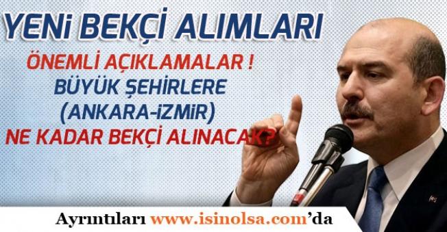 Yeni Bekçi Alımları İle İlgili İçişleri Bakanı Süleyman Soylu'dan Önemli Açıklamalar!