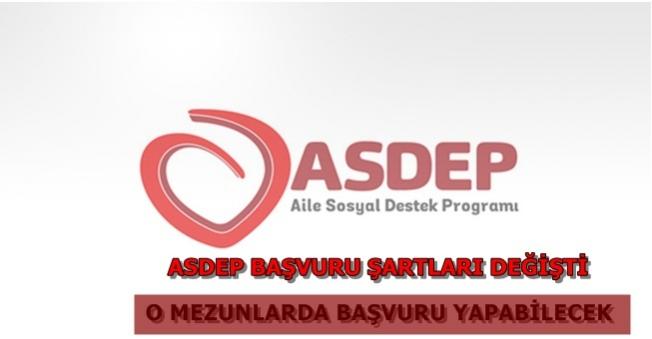 ASDEP Personel Alım Şartları Değişti (O Mezunlarda Başvuracak)
