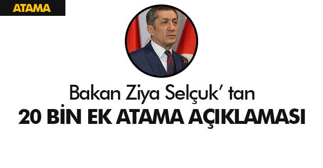 """Bakan Selçuk'tan Öğretmen Ataması Açıklaması: """" 40 Bin Olsun İsteniyor. """""""