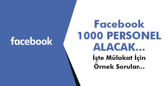 Facebook Mezuniyet Şartsız 1000 Personel Alacak! İşte Örnek Mülakat Soruları ve Detaylar