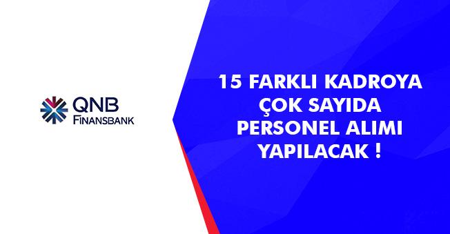 Finansbank Bünyesine 15 Farklı Pozisyondan Personel Alımları Yapılacak