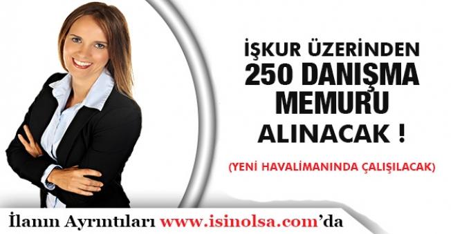 İstanbul Yeni Havalimanında Çalışacak Danışma Memurları Aranıyor! İlanlar Yayımlandı