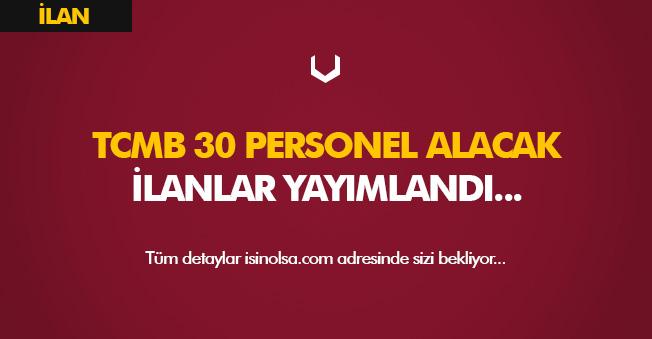 Merkez Bankası 30 Personel Alımı Yapacak! İlanlar Yayımlandı