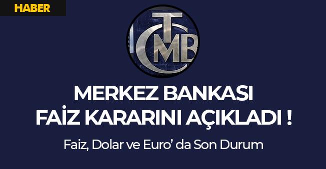 Merkez Bankasından Faiz Açıklaması: Faiz Yüzde 24' te Sabit Tutuldu