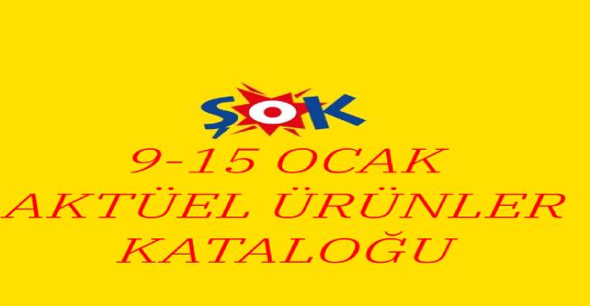 Şok Aktüel Ürünler Kataloğu(9-15 Ocak)