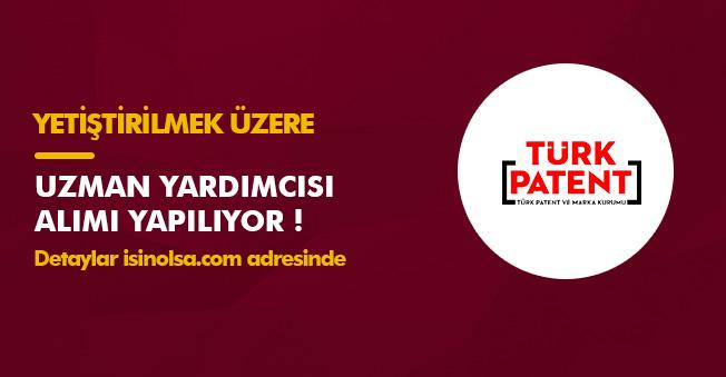 Türk Patent ve Marka Kurumu Uzman Yardımcısı Alacak! Yetiştirilmek Üzere