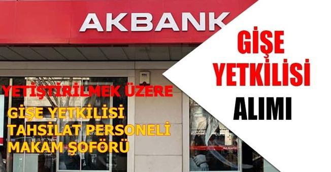Yetiştirilmek Üzere Gişe Memuru Alımı Yapan Bankalar