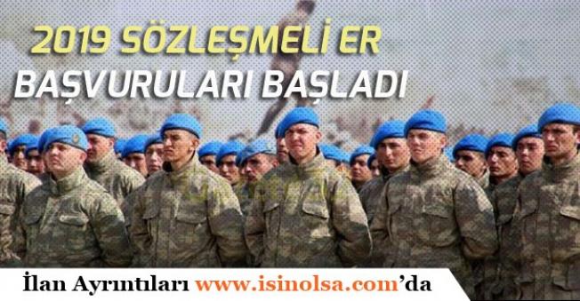 Askeri Personel Alımı! 13 Bin Sözleşmeli Er Alımı Yapılacak!