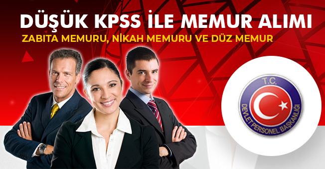 Düşük KPSS ile Zabıta, Nikah Memuru ve Düz Memur Alımları Yapılıyor! İlanlar Yayımlandı