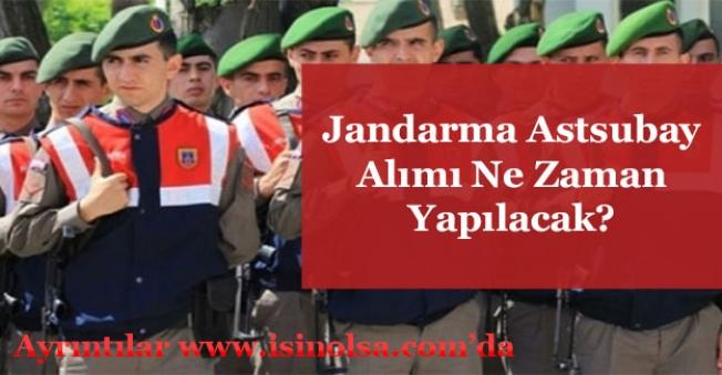 Jandarma Astsubay Alımı Ne Zaman Yapılacak?