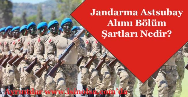 Jandarma Astsubay Alımına Hangi Bölümler Başvurabilir?