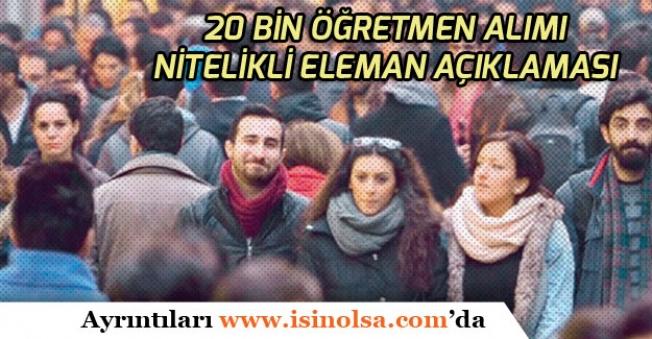 Öğretmen Atamaları ile İlgili Cumhurbaşkanı Erdoğan'dan Açıklama!