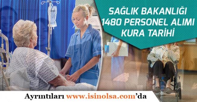 Sağlık Bakanlığı 1480 Personel Alımı Kurası Ne Zaman Yapılacak?