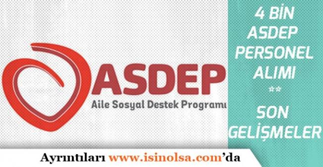 2019 ASDEP Personel Alımı İçin Son Gelişmeler! Düşük KPSS ile