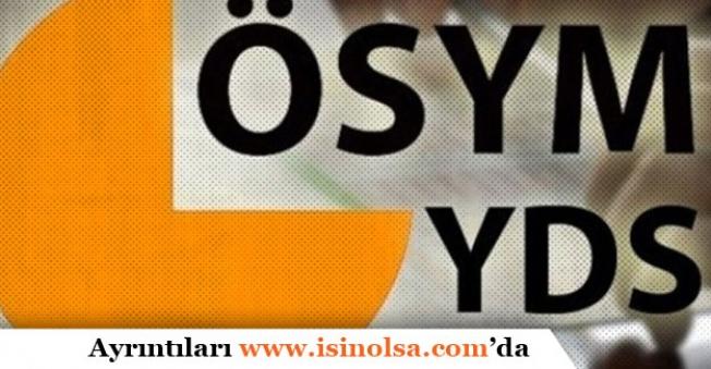 2019 YDS-1 Sınav Sonuçları Ne Zaman Açıklanacak?