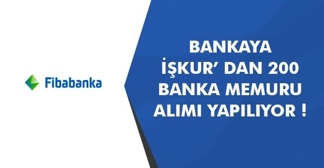 Bankaya 200 Memur Alımı İçin Tarih Sonlanıyor! Banka Memuru Alımları