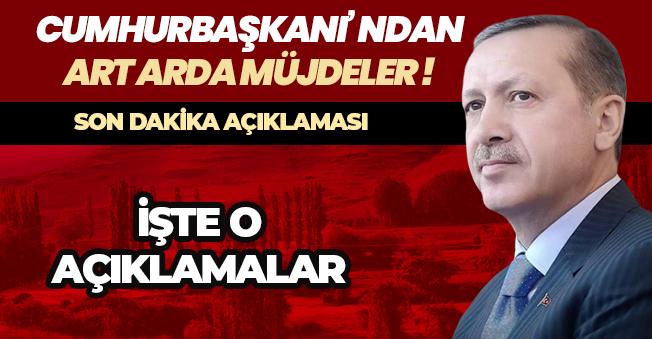 """Cumhurbaşkanı Erdoğan: """"Enflasyon yüzde 6 - 7 ye kadar düşecek """""""
