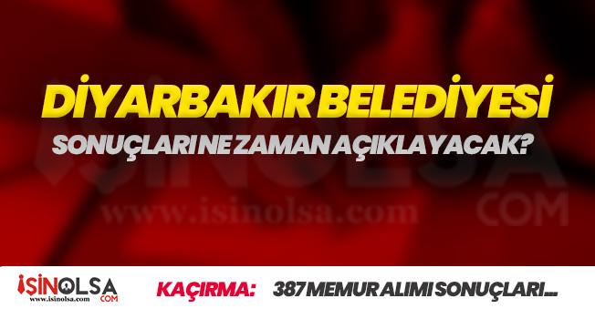 Diyarbakır Büyükşehir Belediyesi 387 Memur Alımı Sonuçları Bekleniyor! İddialar Adayları Mağdur Ediyor