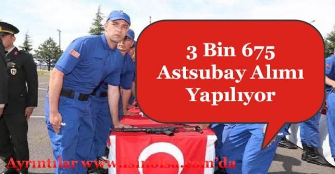 İçişleri Bakanlığı 3 Bin 675 Astsubay Alımı Yapıyor!