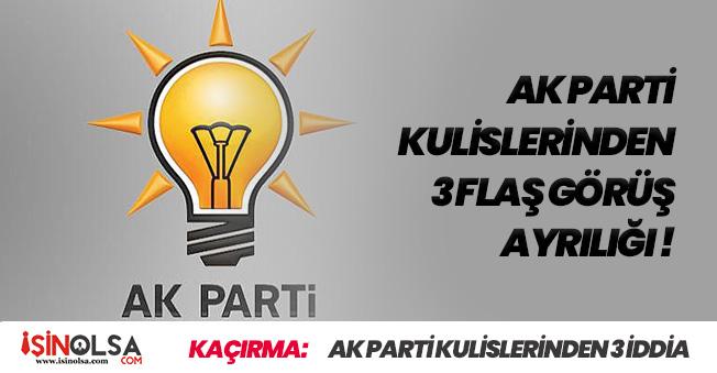 AK Parti Kulislerinde İstanbul İçin Konuşulan 3 Farklı Fikir!