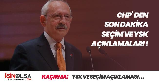 AK Parti' nin Seçim Yenilensin İtirazına, CHP Lideri Kılıçdaroğlundan Son Dakika Açıklaması