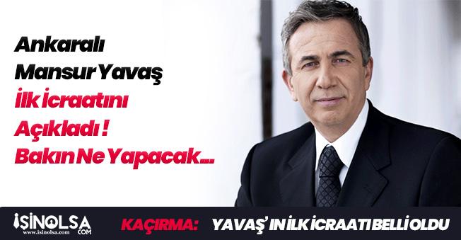 Ankarayı Kazanan Mansur Yavaş İlk İcraatını Açıkladı! Makam Araçları Azaltılacak
