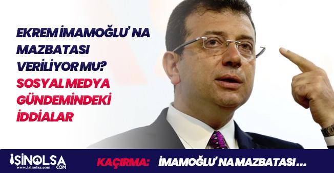Ekrem İmamoğlu' na Mazbatası Veriliyor Mu? İstanbul Valiliğinden Açıklama