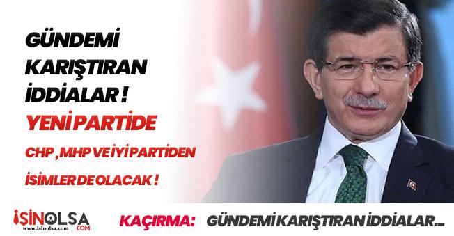 Son Dakika FLAŞ İddia: Davutoğlu ve Babacan Yeni Parti Kuruyor! CHP ve İYİ Parti' den Katılım Olacak