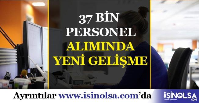 37 Bin Jandarma ve Adalet Bakanlığı Alımında Gelişme