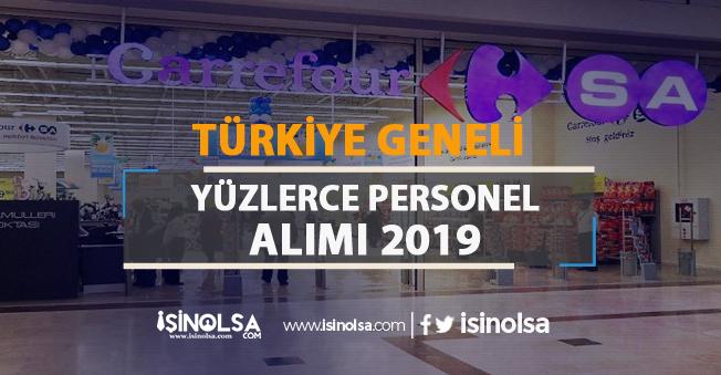 CarrefourSA Türkiye Geneli Yüzlerce Personel Alımı 2019