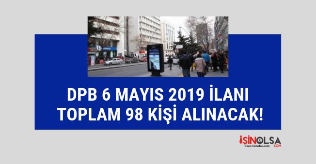 DPB ilan yayınladı, 19 engelli, 33 eski hükümlü, 2 bilişim personeli alınacak